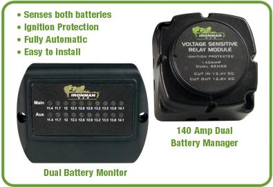 Kits Para Doble Bateria 140 Amp