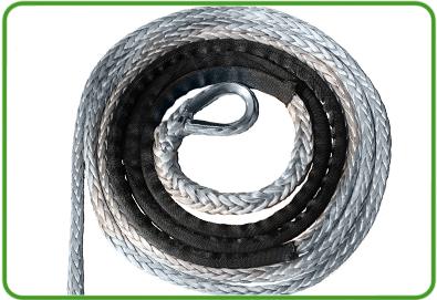 Cable Sintético y guia en aluminio