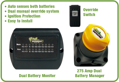 Kit Para Doble Bateria dual 275 Amp